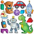 Collection with toys theme 2 - 75028656