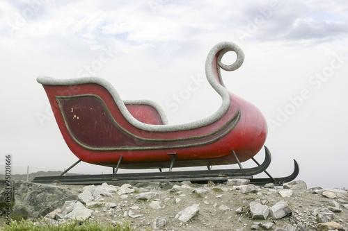 Foto op Plexiglas Antarctica 2 Santa's sleigh in Ilulissat, Greenland.