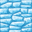 Blue ice seamless pattern - 75028838