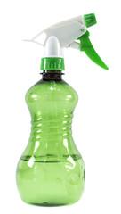 Green plastic spray