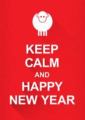 Keep calm sheep