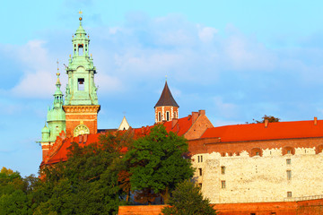 Castle Wawel. Krakow. Poland.