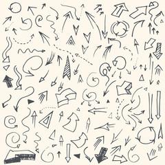 simple hand drawn arrows