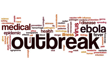 Outbreak word cloud