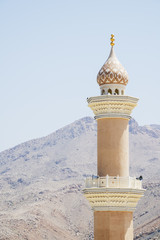 Minaret mosque Nizwa