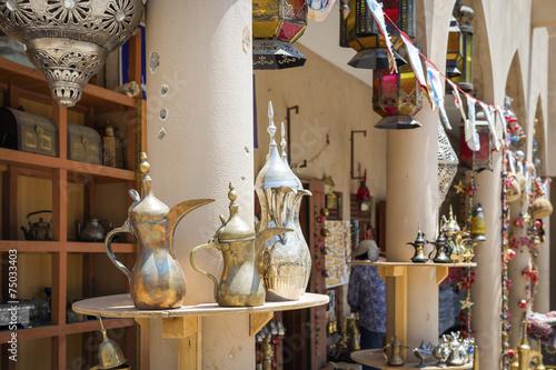 Fotobehang Midden Oosten Market Nizwa Oman