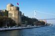 Fortress Rumeli Hisari in Istanbul, Turkey