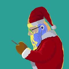 Santa claus got message