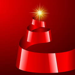 Christmas Tree - Vector Illustration - EPS 10