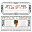 Vector template advertisements and invitations cards