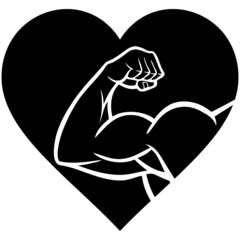 Strong Heart Symbol