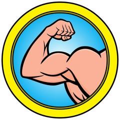 Strongman Icon