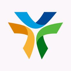Vector logo design element. Abstract, modern, creative