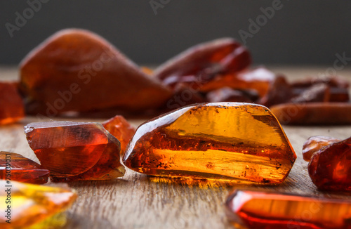 Leinwanddruck Bild Янтарь