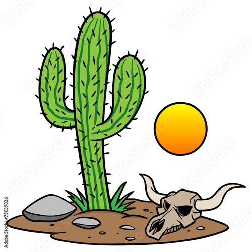 Texas Desert - 75039826