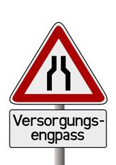 Versorgungsengpass