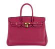 Natural leather female purse - 75041032
