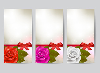 Rose banners
