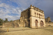 Medieval fortress in Gondar, Ethiopia.