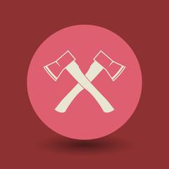 Ax symbol, vector