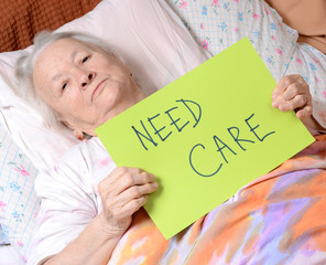 Need care