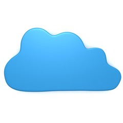 Cloud 3d illustration