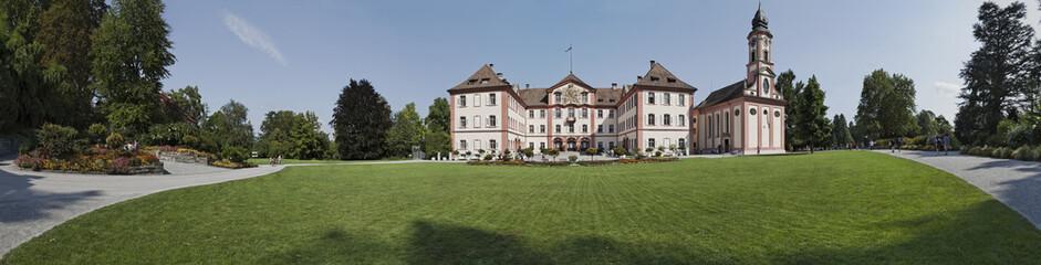 Bodensee Schloss Mainau Panorama