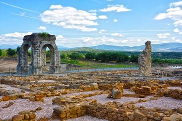 Lusitania, Hispania, ruinas de Cáparra, Cáceres, Extremadura