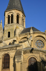 France, the picturesque city of Poissy