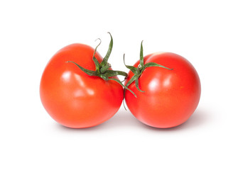 Two Red Ripe Tomatoes