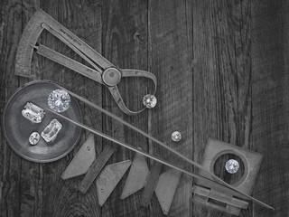 vintage tools and diamonds