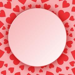 Рамка к дню влюбленных