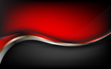 Stylish abstract red background. Vector - 75048626