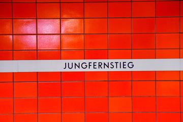 Jungfernstieg - Hamburg