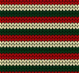 X-mas seamless knitted pattern