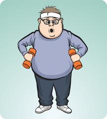 fat man training