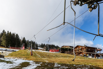 Ski - Manque de Neige