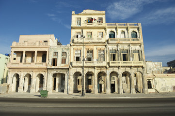 Classic Colonial Architecture Central Havana Cuba