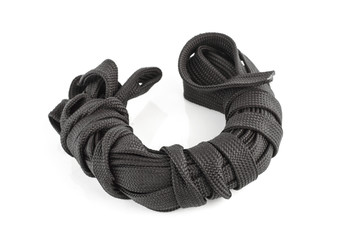 coil of black rope