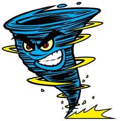 Twister Mascot