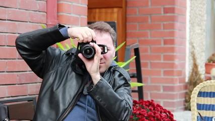 Detective, secret agent, journalist or paparazzi in action 3