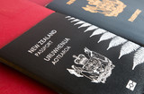 New and old New Zealand passports
