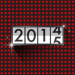 New Year 2015 countdown