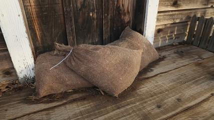 Sandbags for Flood Protection