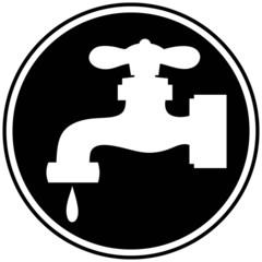 Water Faucet Symbol