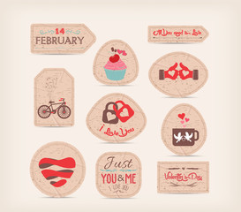 valentine Love Gift Tags