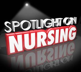 Spotlight on Nursing Career Medical Health Care Job Licensed Reg
