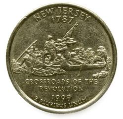 New Jersey quarter