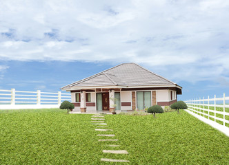 House in land
