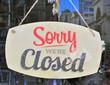 Closed sign - 75059636